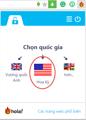 hola choice VPN