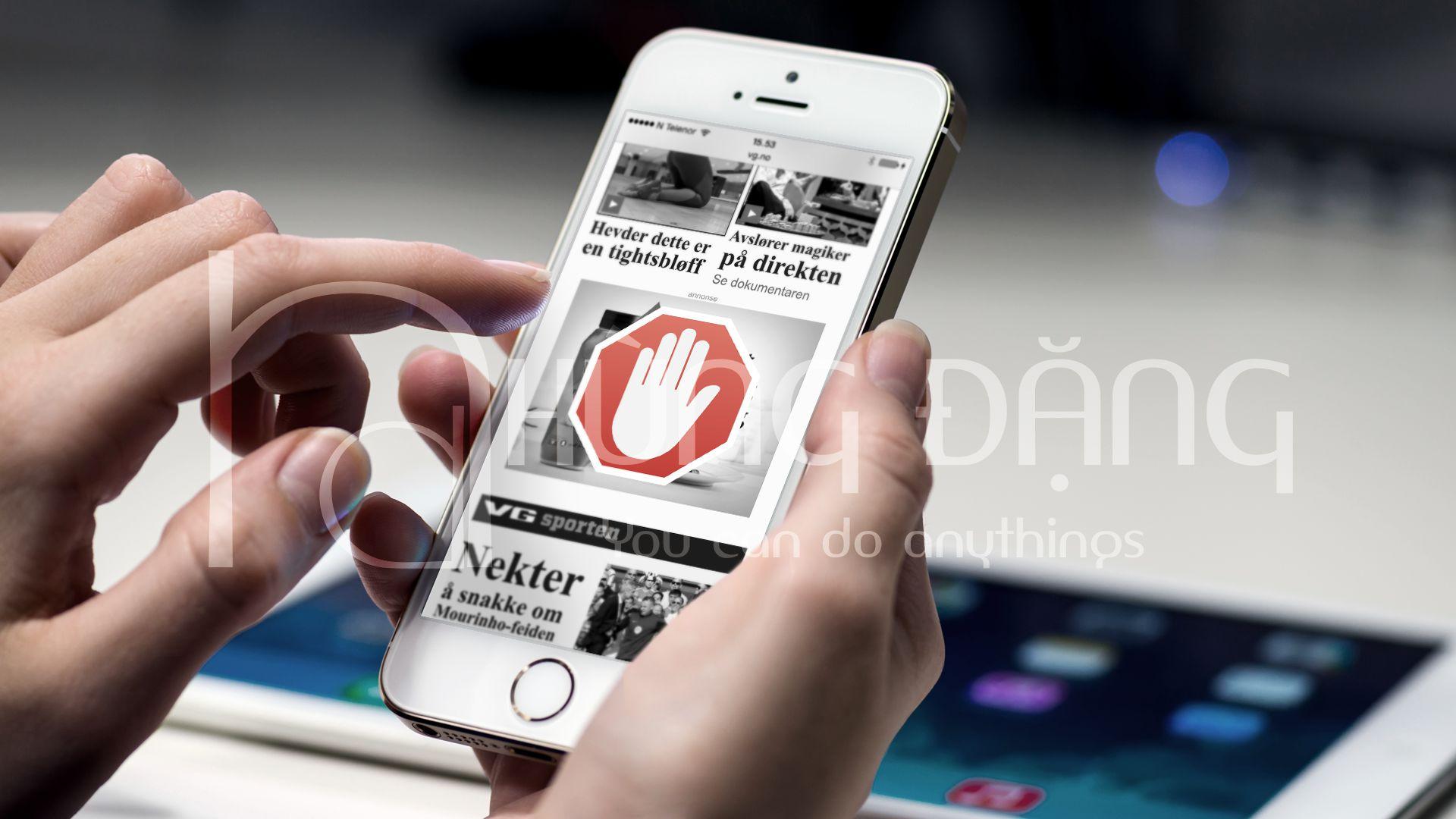 Adblock – Tạo cảnh báo cho người dùng